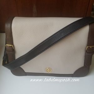 Tory Burch colorblock leather bag